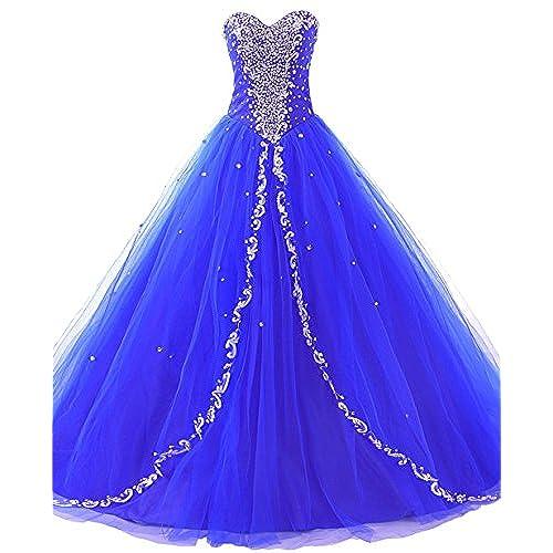 Royal Blue Quinceanera Dresses: Amazon.com
