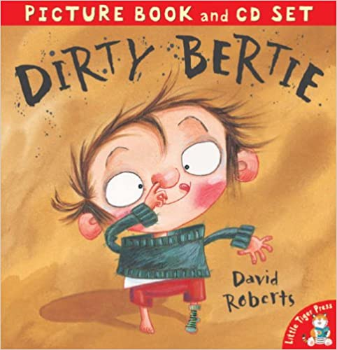 Book Dirty Bertie (Picture Book and CD)