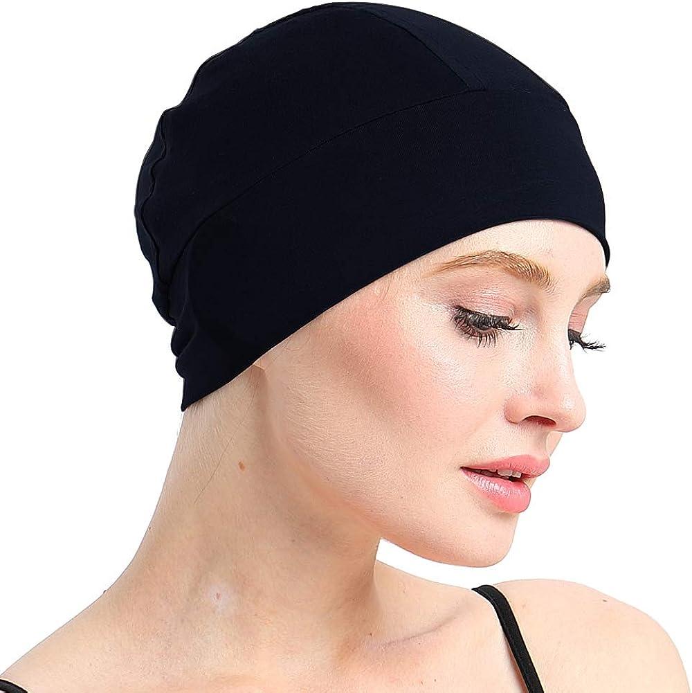 Details about  /Adjustable Unisex Chemo Cap Bonnet Kitchen Worked Cap Hair Care Loss Hat Cover