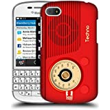 Head Case Designs Techno Vintage Radio Phone Protective Snap-on Hard Back Case Cover for BlackBerry Q10