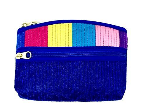 FabCloud bag Rainbow blue mini bag by WiseGloves handbag purse tote clutch organizer bag accessory