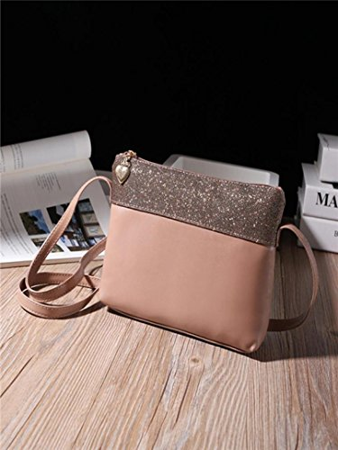 Leather Handbag Messenger Women Satchel Shoulder Nevera Bag Khaki Purse Bags Clearance Khaki xwnq1