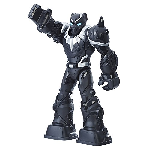 Playskool Heroes Marvel Super Hero Adventures Mech Armor Black Panther -