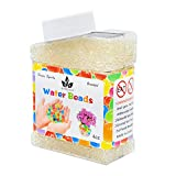 AINOLWAY High Elastic Water Beads Gel Pearls Jelly Crystal Soil for Kids Sensory toys or Vase Fillers 4oz Almost 15,000 Pcs (CLEAR)