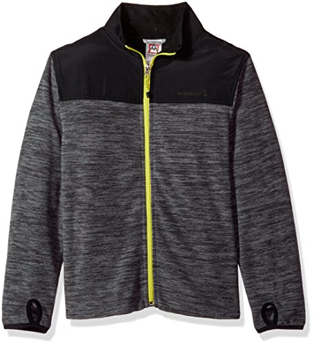 Performance Jacket (Avalanche Little Boys' Zip Front Jacket, Performance Grey, 5/6)