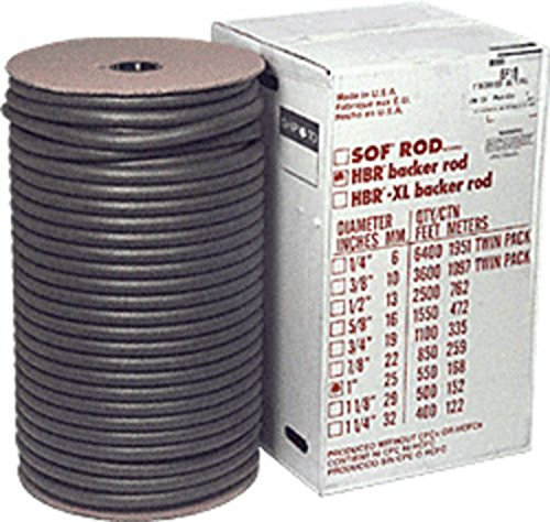 """CRL 1"""" Closed Cell Backer Rod - Bulk Roll by CR Laurence"""