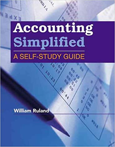 Accounting simplified a self study guide william ruland accounting simplified a self study guide 1st edition fandeluxe Images