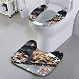 UHOO2018 Sit Toilet Cover high Precision CNC Gas cutt Metal Sheet with High Absorbency