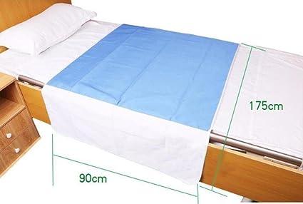 MEYLEE Protector de sábanas y colchones Ultra Waterproof de alta calidad para personas mayores - Telas de tratamiento especiales Reducir las escaras de ...