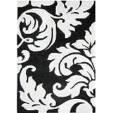 Alliyah Handmade Off-White New Zealand Blend Wool Rug Wool Rug (5  x 8 )