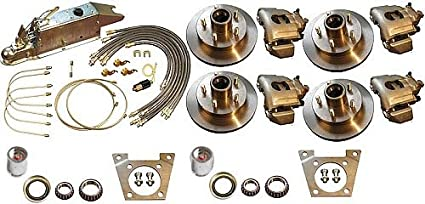 Titan Disc Brake Kit and Model 60 Leverlock Actuator | Electric Lockout  Tandem 3,500 lb Axle 4843200