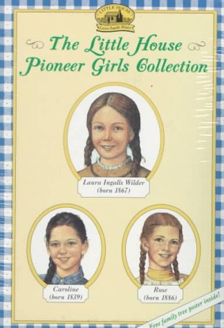 The Little House Pioneer Girls Collection Boxed Set