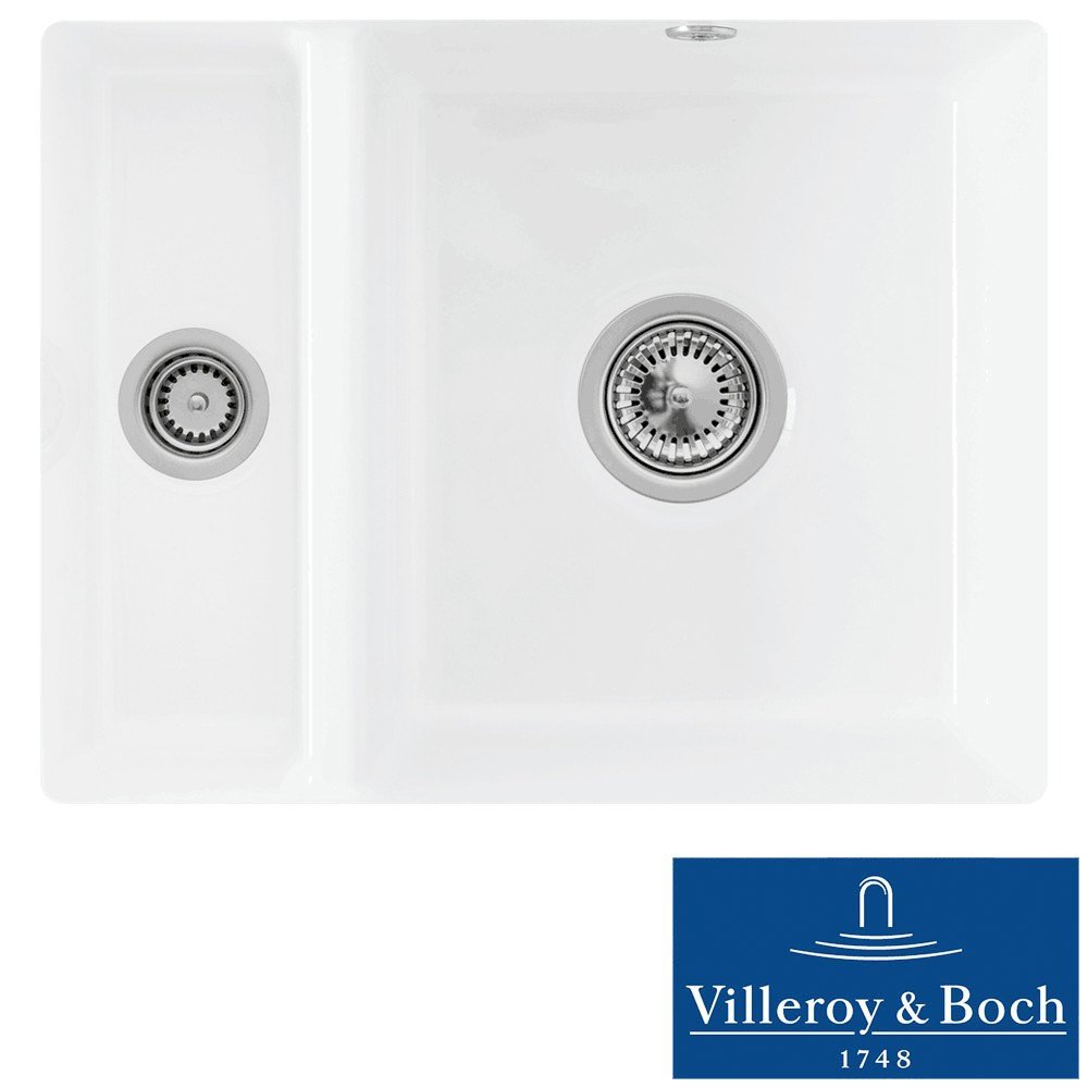 Villeroy boch subway xu 15 bowl white ceramic undermount sink villeroy boch subway xu 15 bowl white ceramic undermount sink lhsb no waste amazon diy tools workwithnaturefo