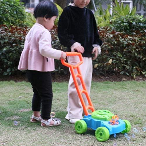 Grokebo シャボン玉製造機 バブルマシン 車のおもちゃ 手押し車の仕様 電動バブルマシン バブルメーカー 知育玩具 泡泡機 雰囲気作り 操作簡