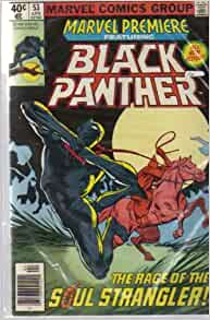 Black panther comic book first issue