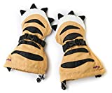 Veyo Kids - Tiger Paw Mittyz - Waterproof Kids Mittens / Toddler Gloves / Easy on, Stay on, / Perfect for Snow Skiing, Sledding, and Winter Play (Medium 2 - 4 Years)