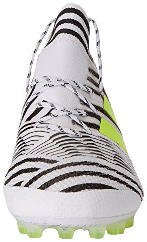 adidas Nemeziz 17.1 AG, Scarpe da Calcio Uomo Bianco (Ftwbla/Amasol/Negbas)