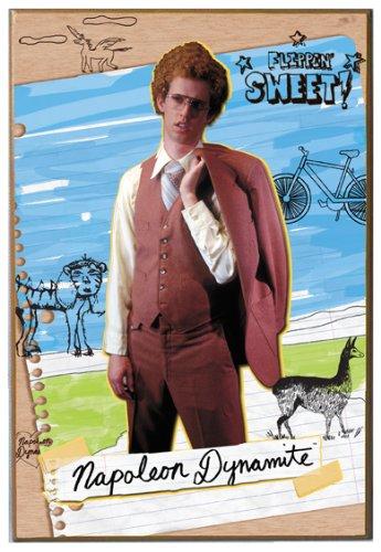 Silver Buffalo ND0536 Napoleon Dynamite Movie Poster Wood Wa