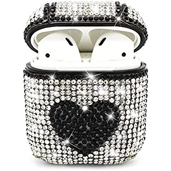 Amazon.com: Airpods Case,MeiQing Bling Luxurious Diamonds