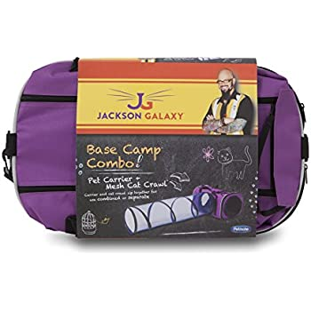 Petmate jackson galaxy base camp carrier with for Jackson galaxy phone number