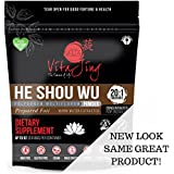 VitaJing He Shou Wu Powder Extract ORGANIC 20:1 CONCENTRATION (2oz - 57gm) Prepared Fo-Ti
