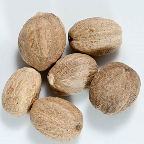 Nutmeg - Whole - 1 resealable bag - 1 lb