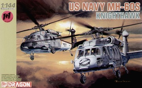 Dragon 144 1 - Dragon Models 4605 1/144 US Navy MH-60S HSC-2 & HSC-28 (2)