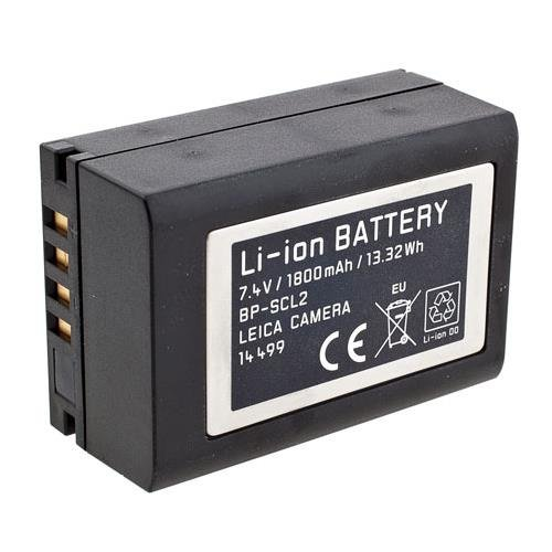 Leica 14499 Li-ion Battery Pack for BP- SCL2 (Black) (Leica M240 Accessories)