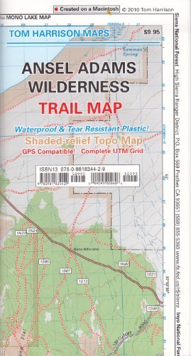 By Tom Harrison Maps Ansel Adams Wilderness Trail Map (Tom Harrison Maps) (1st Edition) PDF