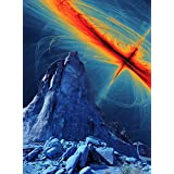 Alien Landscape Solar Flare Large Poster Print 18 x24 '' LF3928