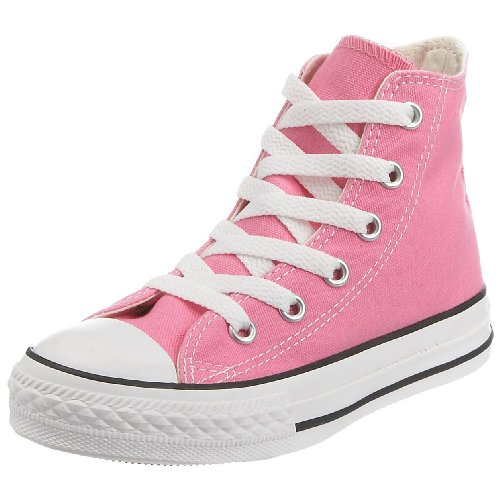 Converse Girls' Youths Chuck Taylor All Star Hi Pink - 11.5 Toddler (Girls Hi Top Sneakers compare prices)