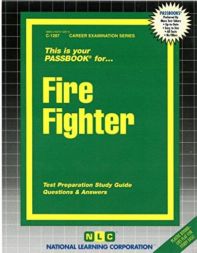 Fire Fighter(Passbooks)