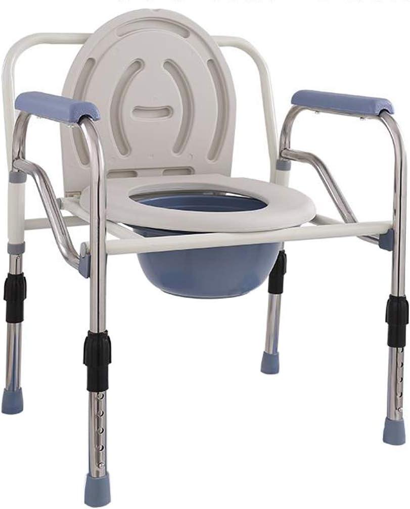 Firsthgus シャワースツールデラックスシャワー医療ベッドサイド便器椅子、肥満の大人に適した、高齢者、妊娠中の女性、障害者