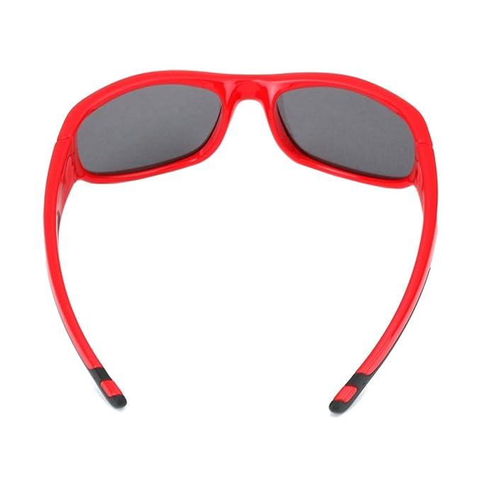 b86c0e4112 Amazon.com  New Cool Kids Sunglasses Rubber Polarized Sunglasses Outdoors  Sports Glasses  Clothing