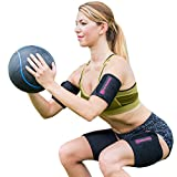Kyпить TNT Body Wraps for Arms and Slimmer Thighs - Lose Arm Fat & Reduce Cellulite - 4 Piece Kit, Large, Pink на Amazon.com