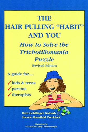 The Hair Pulling Habit Book. I bought this book and use some of the therapy methods and techniques inside to help me stop trichotillomania on my own. This and other products and solutions are available to help people like us suffering from TTM. This page has other products besides this book, maybe one of the remedies or treatment options can help you? Seems like nothing works for everyone but some things work for many.