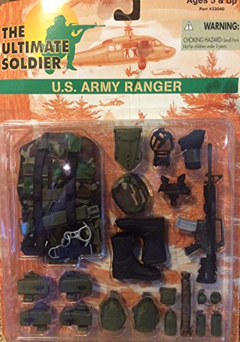 Ultimate Soldier U.S. Army Ranger Outfit (Soldiers Outfit)