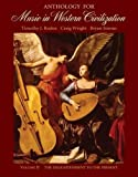 img - for 2: Anthology for Music in Western Civilization, Volume II: The Enlightenment to the Present book / textbook / text book