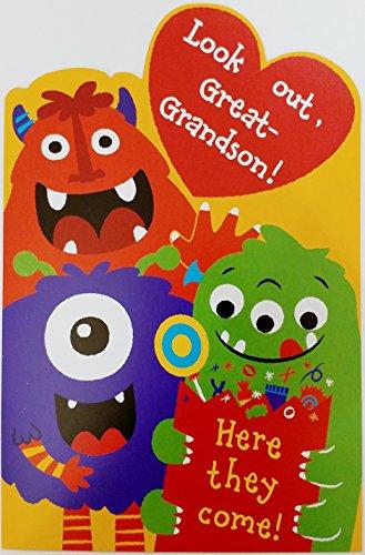 Happy Halloween Great-Grandson Greeting Card -
