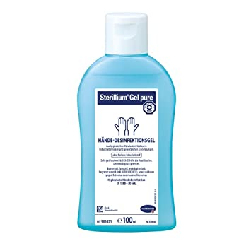 Hartmann Sterillium Gel pure Gel de manos Desinfección, desinfección, 85% Etanol, 100 ml: Amazon.es: Salud y cuidado personal