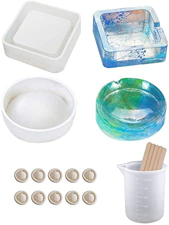 Cup B UV Resin Molds Silicone Molds for Cup Bowl