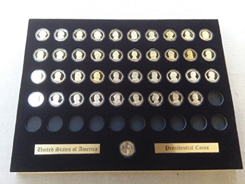 (Tiny Treasures, LLC. Black Display Insert for the Presidential Golden Dollars (Not Included))