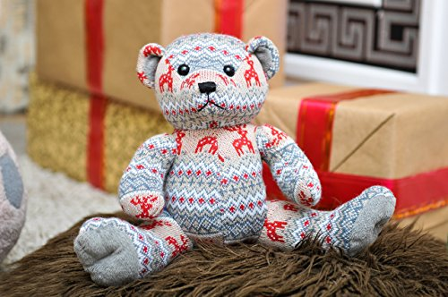 Knitted Teddy - 3