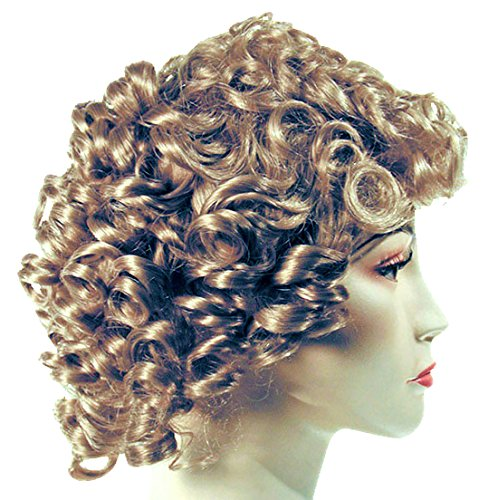 Adult Shirely Temple Costume Wig