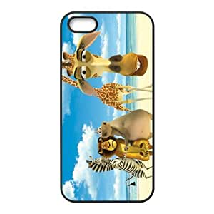 Custom Madagascar Back Cover Case for iphone5,5S JN5S-693