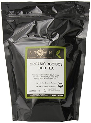 Stash Tea Organic Rooibos Loose Leaf Tea, 16 Ounce