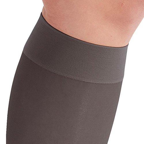 2d775619d7 Ames Walker AW Style 16 Sheer Support 15-20mmHg Moderate Compression Knee  Closed Toe Knee
