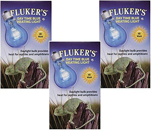 Fluker Labs 40 Watt Blue Daylight Reptile Bulbs (3 Pack)