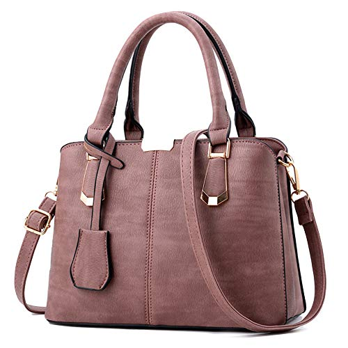à Shopping Sac Womens Purple Main Sacs Dames Body 14 En 19cm Sacs Bandoulière Cuir Totes Handle PU Handbags 27 Top Outdoor Pour à Sacs Cross qqfrTZ1En