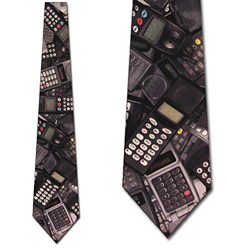 Marlin Vintage Tie (Cellphones Ties Cellular device neckties vintage tie Mens Necktie)